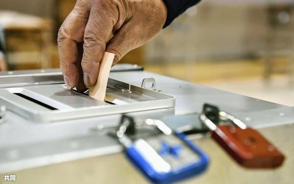 市長・東京区長選の開票状況