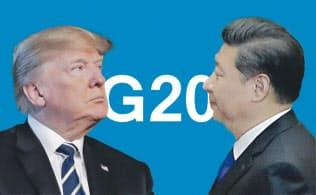 米中首脳、G20で会談へ 電話協議で合意