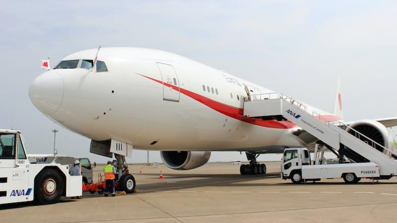新政府専用機777の中は?(写真でみる永田町)