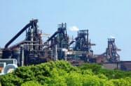 JFEスチールの高炉トラブルによる生産の停止が響いた(西日本製鉄所福山地区)