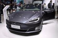 テスラは中国の富裕層から人気が高い(上海国際自動車ショー)