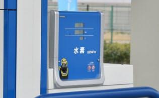 岩谷産業の水素ステーション(東京都江東区)