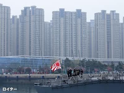 国産空母の参加見送り 米に配慮か 中国が観艦式