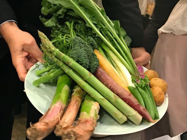 野菜や果物の価値を味とセールスポイントの両方で評価するブランドづくりが始まる