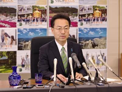 福井県の杉本知事就任 「廃棄物 県外処理守る」