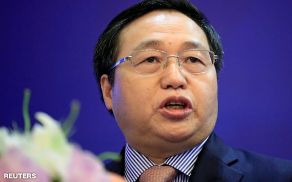 中国工商銀行トップに就く陳四清氏=ロイター