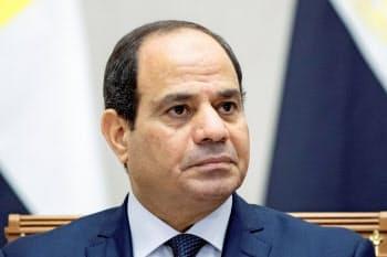 エジプトのシシ大統領=ロイター
