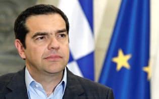 ギリシャのチプラス首相は、欧州全域に広がる反EUや右派ポピュリズムのうねりに警鐘を鳴らす=ロイター