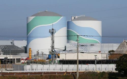 テロ対策施設の設置期限が20年3月に迫っている川内原発(鹿児島県薩摩川内市)