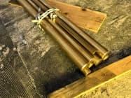 伸銅品の需要は前年割れが続く(都内の問屋)