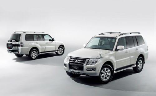 三菱自動車が24日に発売した「パジェロ ファイナルエディション」