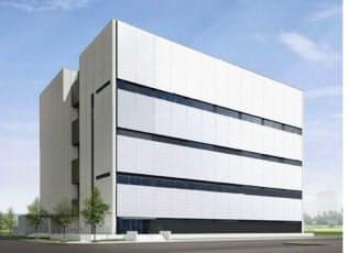 原薬製造棟の完成イメージ