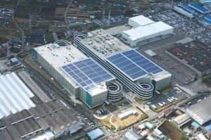 日産座間工場跡地には大型の物流施設などができた(神奈川県座間市)