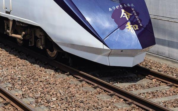 京成電鉄は記念ヘッドマークを付けた列車を運行する(写真はイメージ)