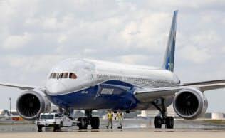 ボーイングは中型機「787」を増産する=AP