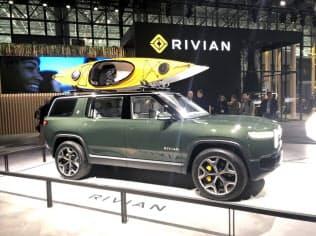 米リヴィアンはSUV型のEVなどを20年後半に発売する計画を示している
