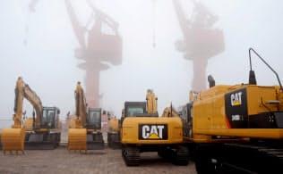 中国でキャタピラーの建機需要が減少=ロイター