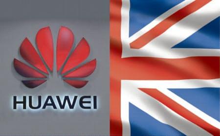 英国は5Gへのファーウェイ参入を部分的に認める方針