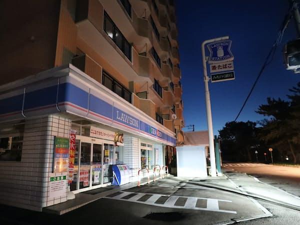 地震に伴うブラックアウト(全道停電)は北電の供給体制が批判を浴びた(18年9月、函館市)
