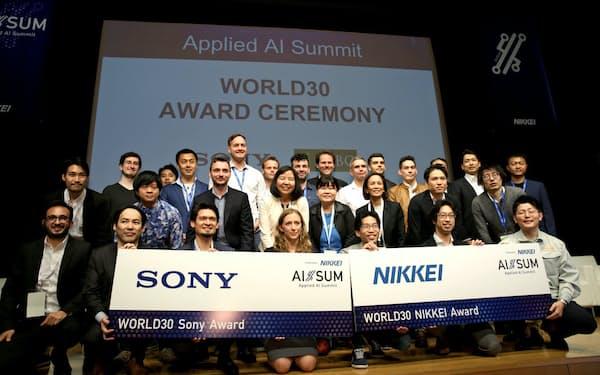 ピッチイベント「WORLD30」には国内外のスタートアップ30社が出場した