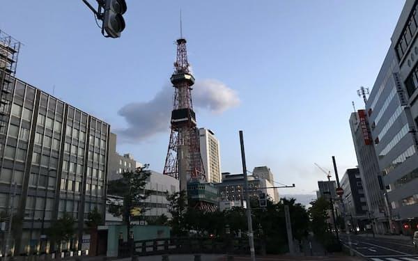 ブラックアウトで北電に批判が集まった(18年9月、札幌市内)