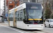 富山ライトレールは20年2月に富山地方鉄道と合併する(富山市)
