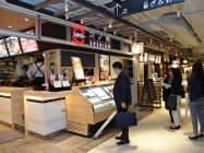 2階に開業するフードコートには10店舗が入る(川崎市)