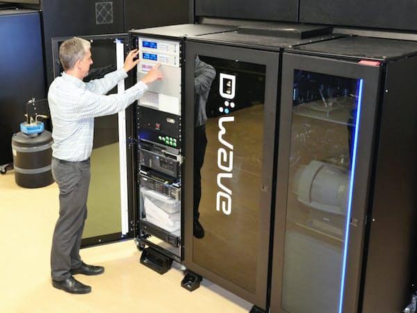 Dウエーブの量子コンピューター。シグマアイやエー・スターが使う
