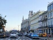 キューバ・ハバナの旧市街