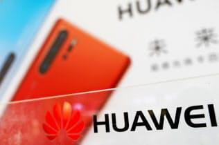ファーウェイはスマホからテレビなどへ戦線を拡大する(19年3月、中国・深圳のファーウェイの店舗)=ロイター