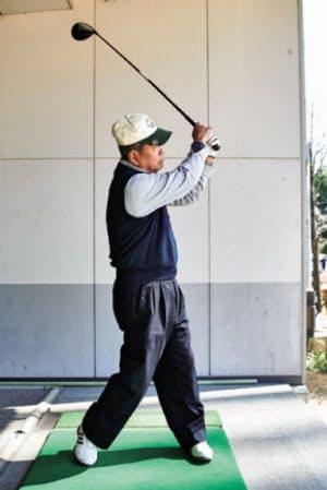 「調整すればもっと飛ぶ」と鈴木久雄さん