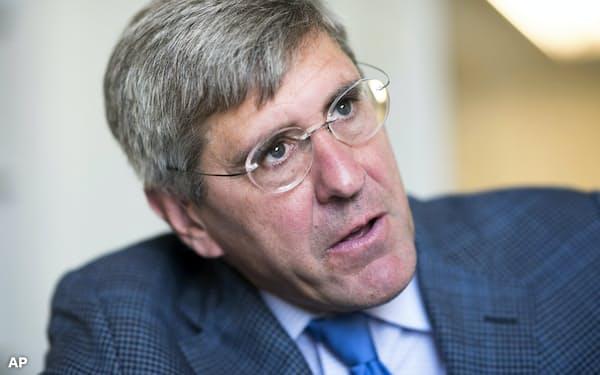 FRB理事への指名を辞退した経済評論家のスティーブン・ムーア氏=AP