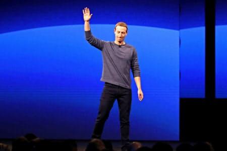 今後、焦点になりそうなのがフェイスブックがつくる投稿ルールやその行使の透明性だ(ザッカーバーグCEO)=ロイター
