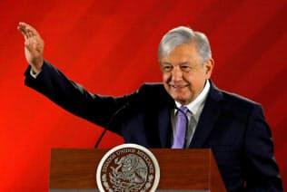 ロペスオブラドール大統領=ロイター