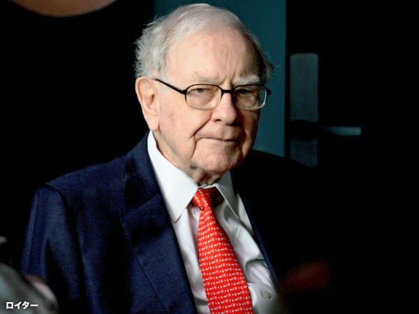 バフェット氏はバークシャーがアマゾン株を取得したことを明らかにした=ロイター