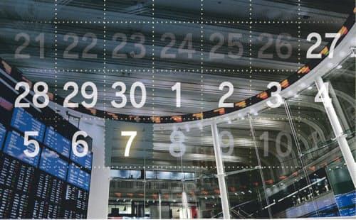 東京マーケットは7日、10連休後初の取引を迎えた