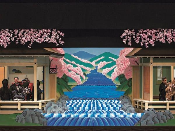 「大序」を上演することで「妹背山婦女庭訓」の筋が明確になる(写真は2016年4月の国立文楽劇場、国立劇場提供)