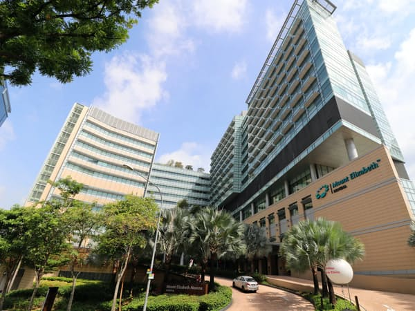 三井物産は医療事業にも力を入れている(写真はIHHが運営するシンガポールの旗艦病院)
