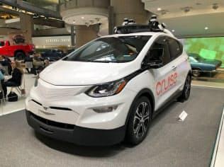 GMクルーズが開発中の自動運転車