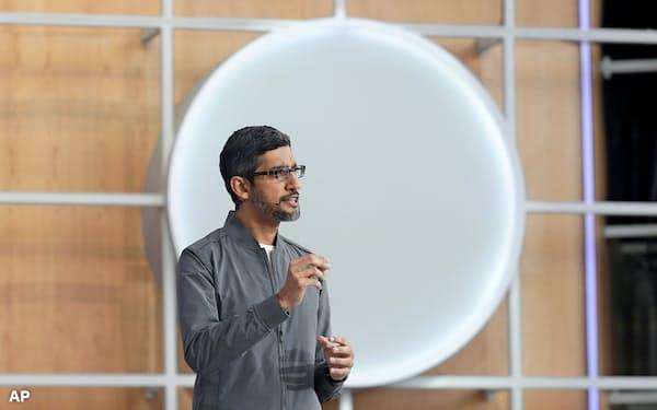 プライバシーの重要性をアピールするグーグルのスンダー・ピチャイCEO