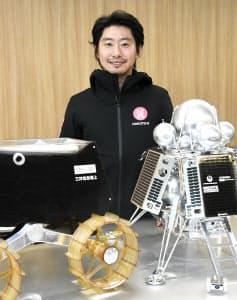 アイスペースの袴田武史CEO