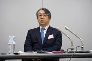 富士フイルムホールディングスの助野健児社長はゼロックス買収について従来の主張を繰り返した