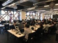 アイクトに開設されたアクセンチュアのオフィス(4月22日、福島県会津若松市)