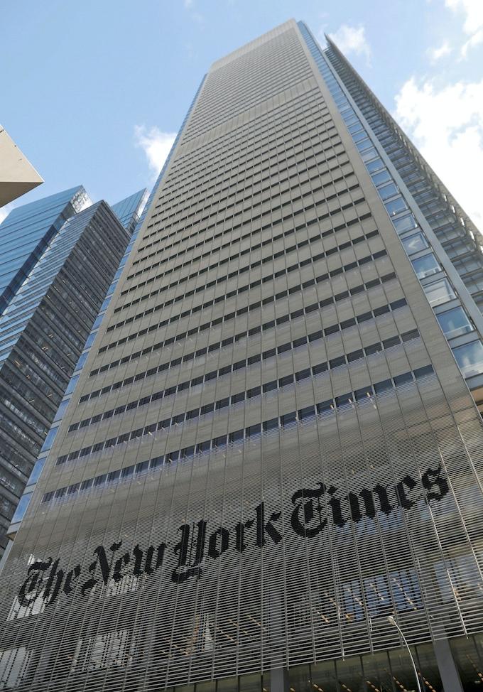 ニューヨーク タイムズ 日本