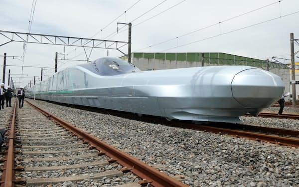 時速360キロを目指すJR東日本の次世代型試験車両「ALFA-X(アルファエックス)」