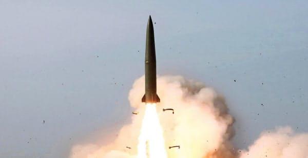 北朝鮮は5月にも2度ミサイル発射している(朝鮮中央通信)