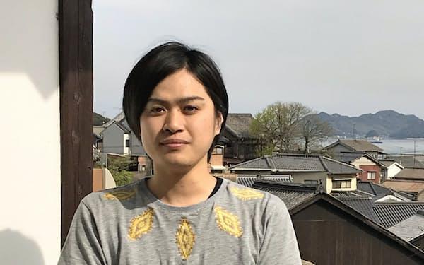 松居大祐さんが管理するそわか楼からは鞆の町が一望できる(広島県福山市)