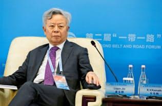 AIIBの金立群総裁=ロイター