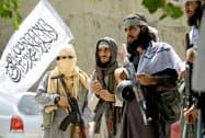 米国とタリバンの和平協議は結論が出なかった(アフガニスタン東部のタリバン戦闘員)=ロイター