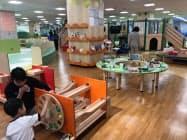 10日のプレオープンには地元の保育園児らが招待された(奈良県桜井市)